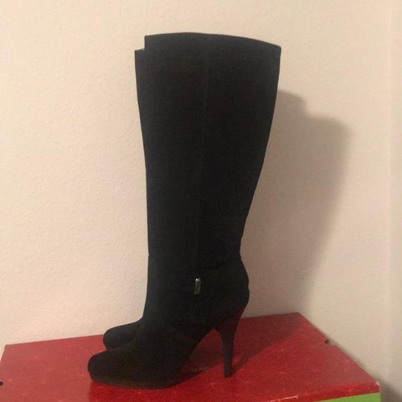 acc95b28748 Faux shade knee high boots. NWT. Worthington